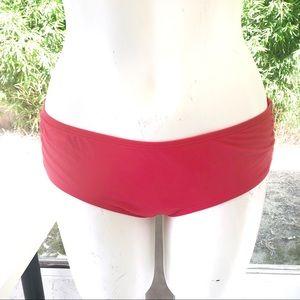 Coco Reef | L | Pink Boycut Swim Bikini Bottoms